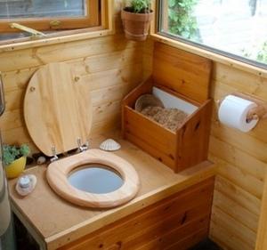 Садовый туалет своими руками чертежи