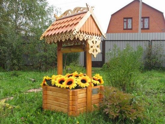 Декоративные постройки для дачи своими руками