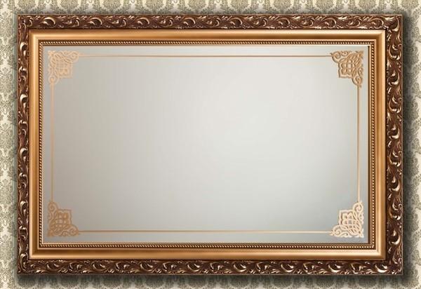 Зеркало для бани своими руками