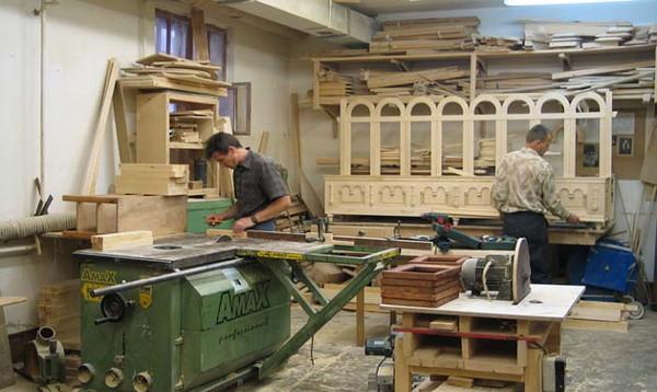 Столярная мастерская на даче
