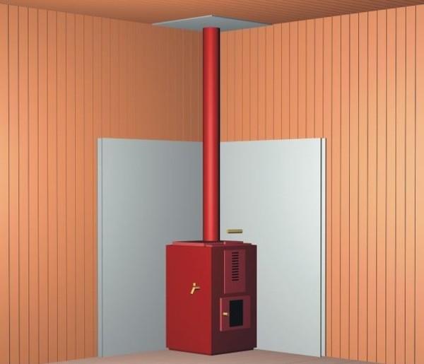 Выбор огнеупорных материалов для стен вокруг печей: виды, особенности, способы защиты стен