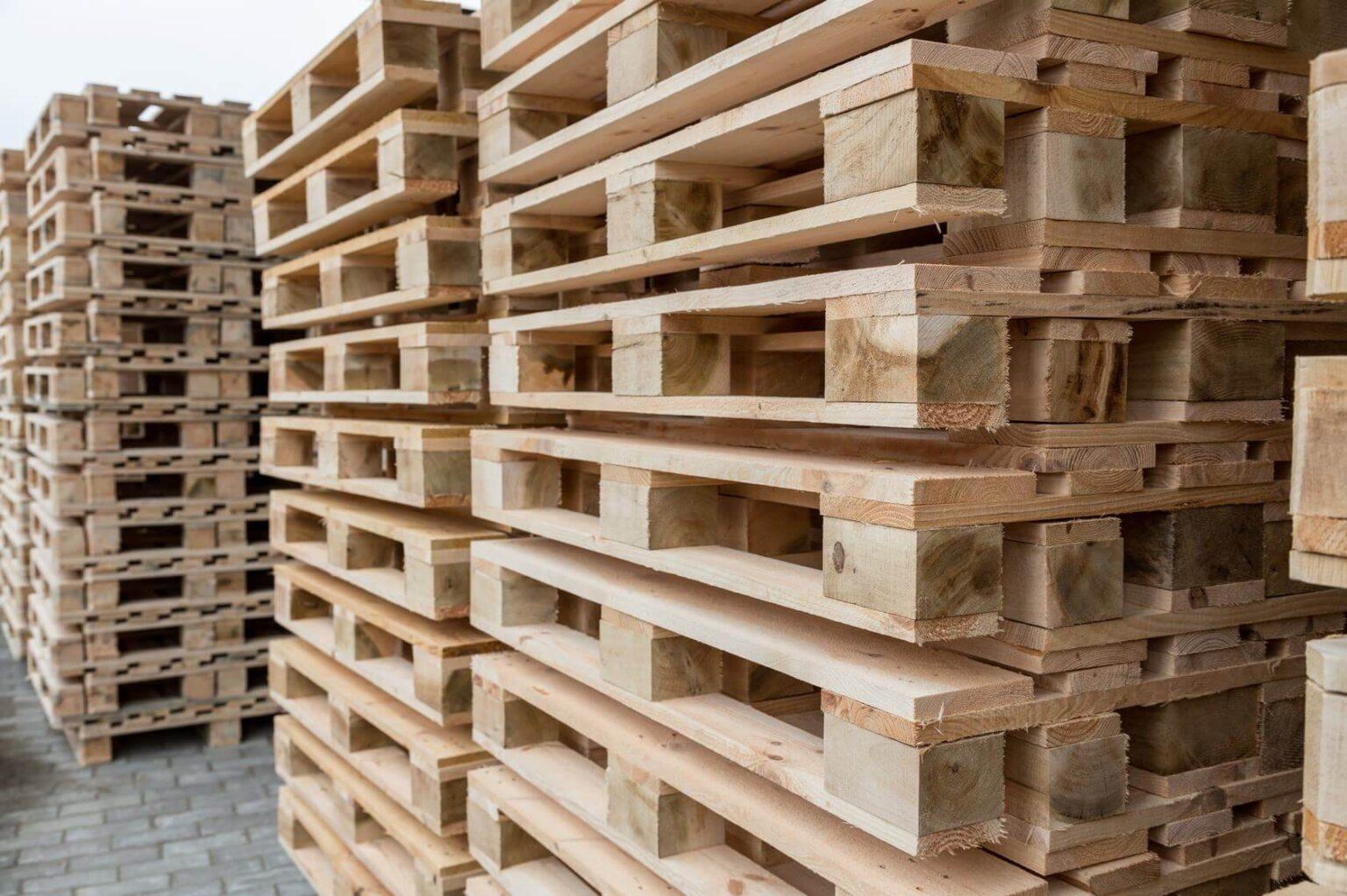Поддоны и паллеты деревянные: поддон 1200х800 облегчённый