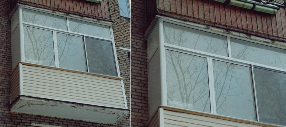 Виды остекления балконов. Преимущества холодного остекления