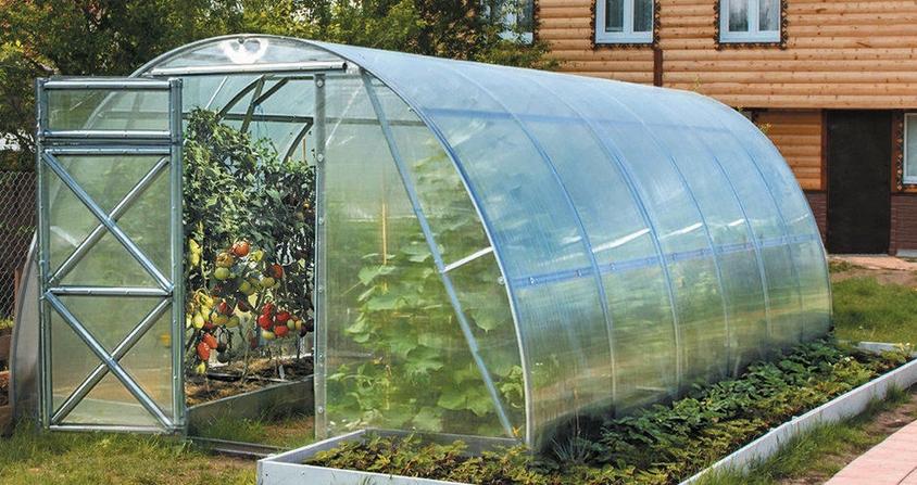 Установка и обустройство теплицы, или зимнего сада